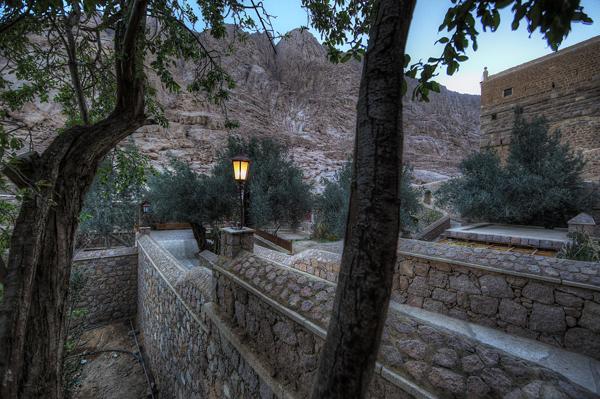 St. Catherine's Monestary Pathway 3 blog