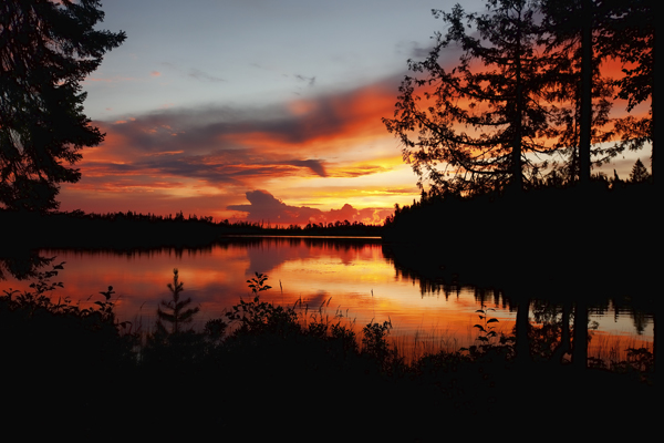 Sunrise 081911 Cabin View 1 blog