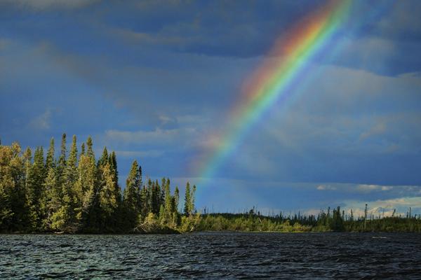 Rainbow  081911 View 1 blog