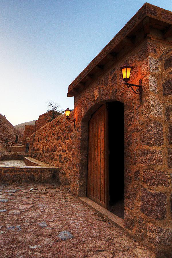 St. Catherine's Monestary Doorway ONE 1  blog