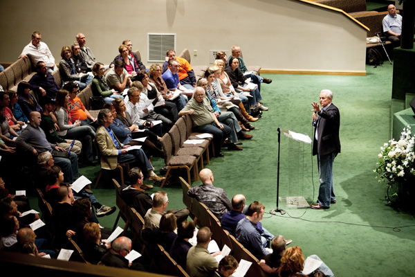 Pastor Mark Beeson casts  New Normal vision  for Granger Community Church