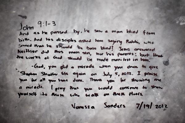 Vanessa's Prayer 071912   1 blog