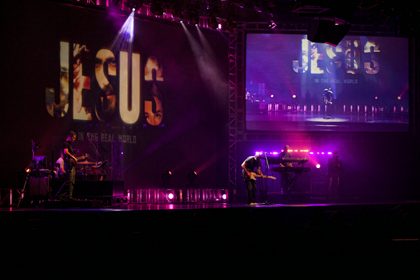 Worship 072112 Stage w Trace  1 blog