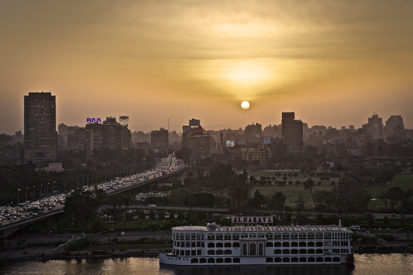 Cairo, Egypt  Hotel View  2010   10