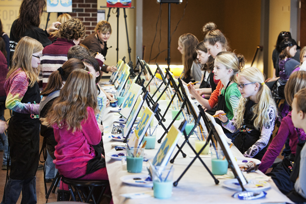 Mark Beeson: Cookies & Canvas at The Granger Commons