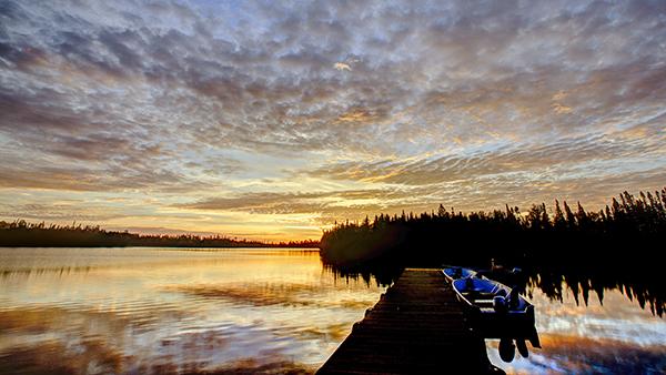 Monday Sunrise 081814 Dock 2A blog